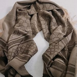 Authentic Gucci survive shawl wool and silk blend scarf/wrap